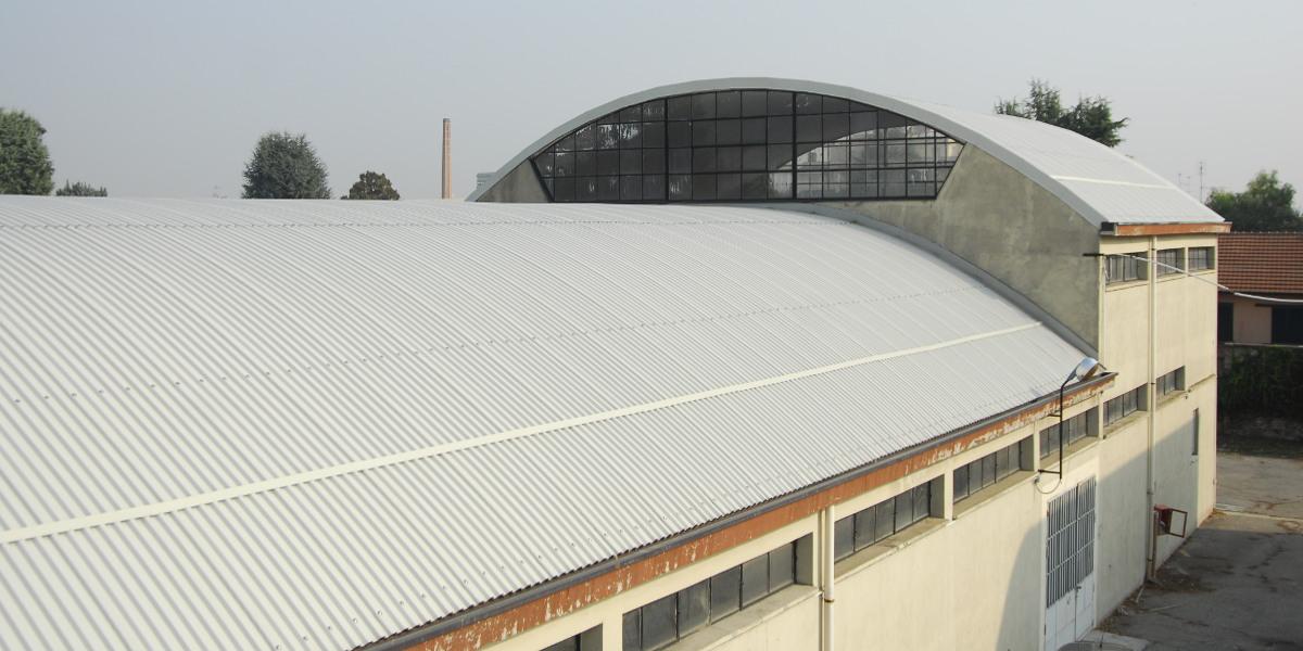 Rimozione amianto e rifacimento nuova copertura capannone